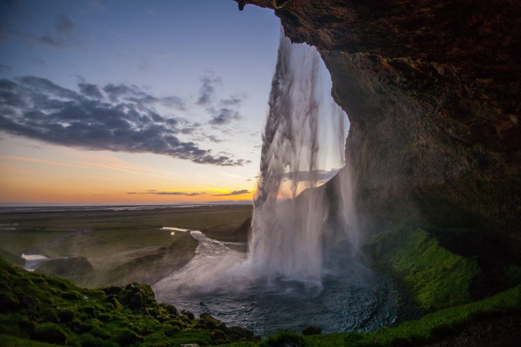 Seljalandsfoss is one of the most beautiful waterfalls in Iceland